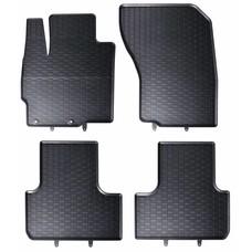 Geyer & Hosaja Gummi Fußmatten Geyer Hosaja für Mitsubishi Outlander III / Peugeot 4007 / Citroen C-Crosser