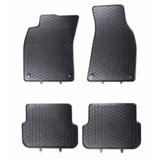 Geyer & Hosaja Gummi Fußmatten Geyer Hosaja für Audi A6 C6 II