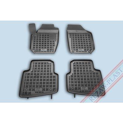 Rezaw Plast Gummi Fußmatten für Skoda Karoq