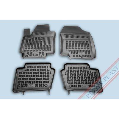 Rezaw Plast Gummi Fußmatten für Hyundai Kona