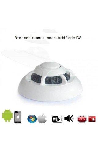 JustCompare Rookmelder Wifi met ingebouwde verborgen camera 1080P met APP