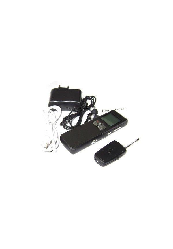 Professionele draadloze Digitale Voice Recorder DVR 8GB