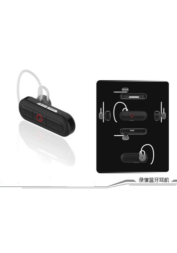 Bluetooth headset camera FULL HD 1920x1080
