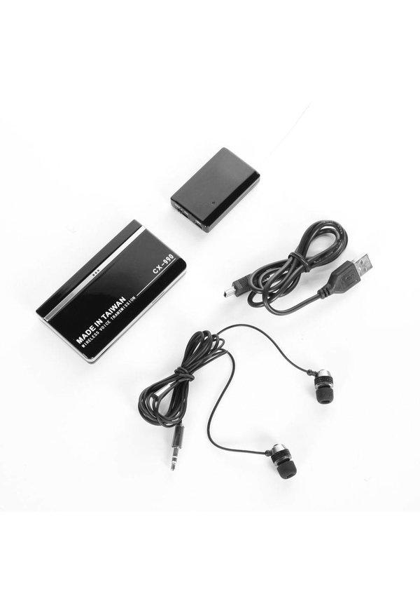 Wireless Voice Transmission - draadloze geluidszender
