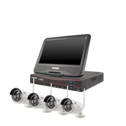 YubiX YubiX Camera systeem compleet Wifi draadloos met 10 inch monitor
