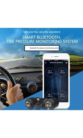 YubiX YubiX Bandenspanningscontrolesysteem met APP incl. 4 sensoren