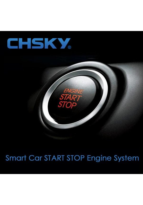 Auto MotorStart/Stop knop Systeem met Remote Control Keyless Entry Audi VW BMW