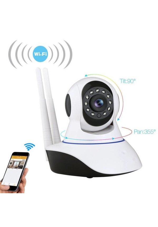 IP Camera Beveiligingscamera wifi draadloos