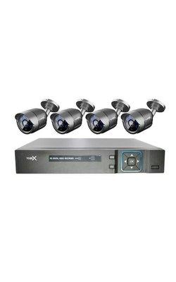 4 camera's ( bekabeld )