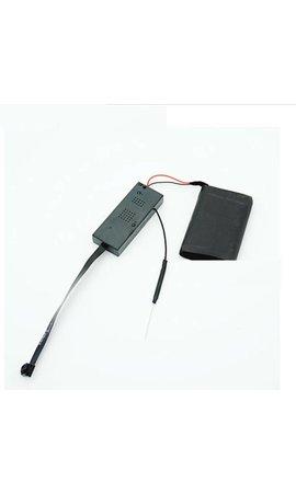 JustCompare Spy camera module met externe accu