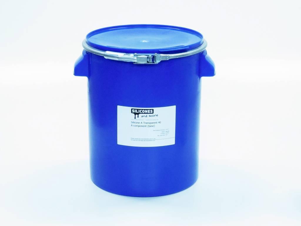 Siliconen Additie Transparant 40 Normaal(Hard)