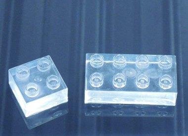 Glasheldere producten