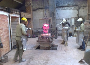Bronze / Tin casting