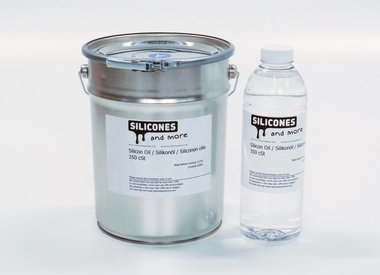 Silicone oil and additives