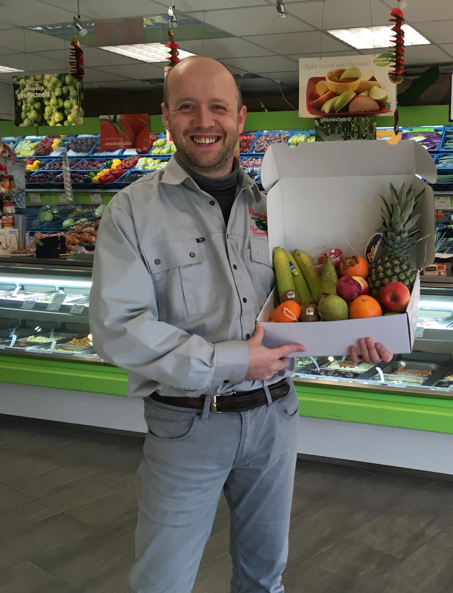 Fruitspecialist Roy Klasens