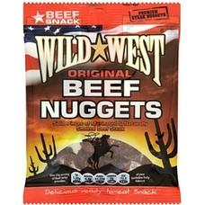 Wild West Beef Jerky Original Nuggets