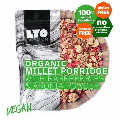 Lyo Food Organic Millet Porridge