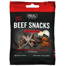 Real Turmat Beef Snacks Chili and Garlic