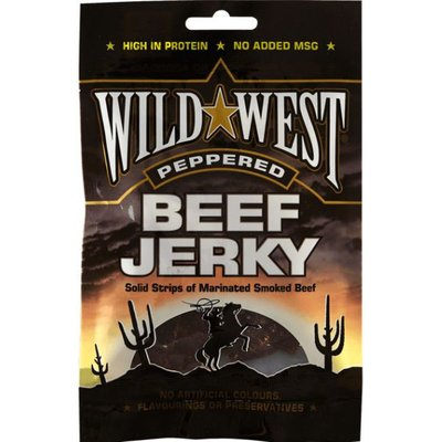 Wild West Beef jerky Pepper Slab