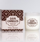 O.W.N Candles O.W.N Candles Glass Jar Candle - White Jasmine