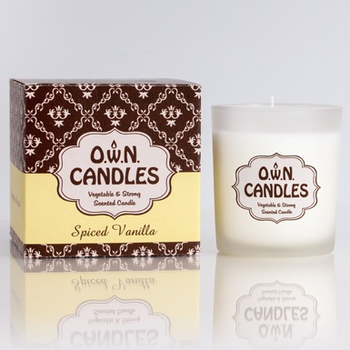 O.W.N Candles O.W.N Candles Glass Jar Candle - Spiced Vanilla