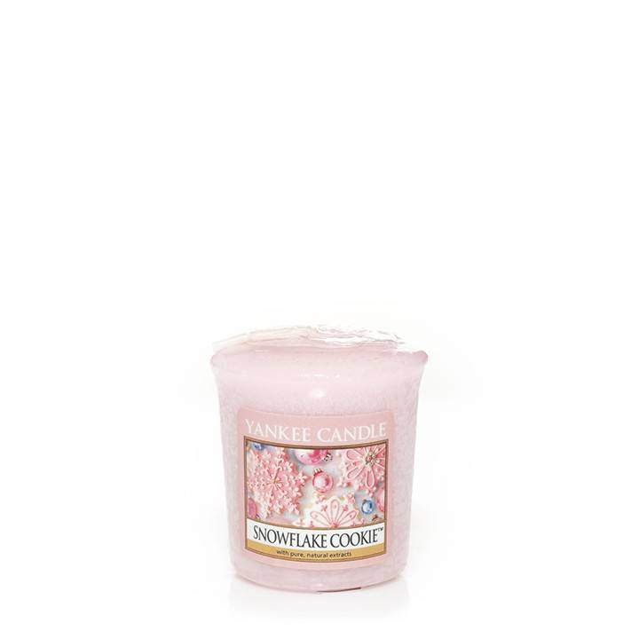 Yankee Candle Yankee Candle - Snowflake Cookie Votive