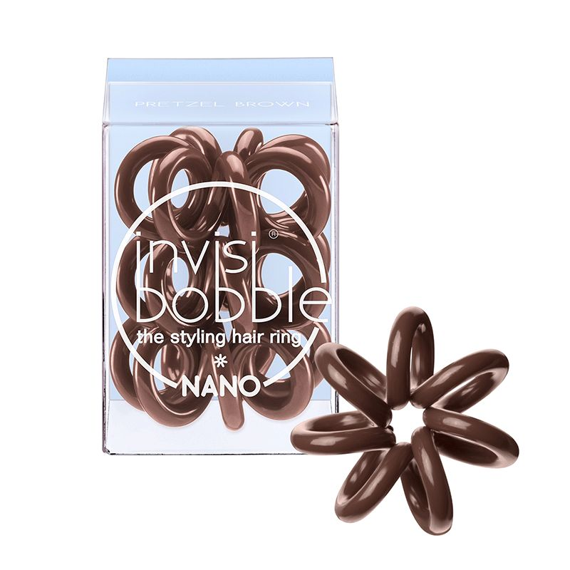 Invisibobble Invisibobble Nano - Pretzel Brown
