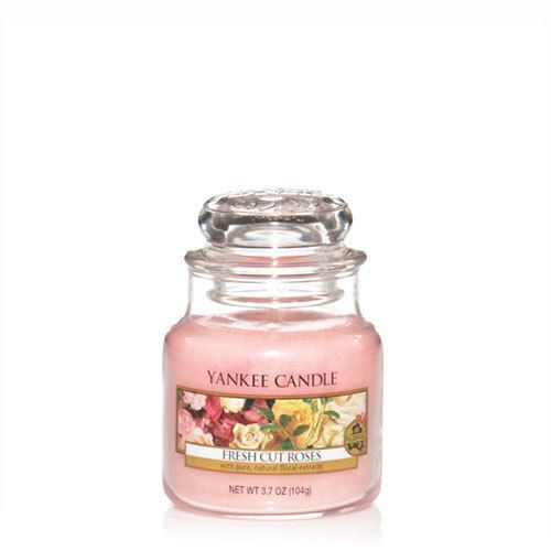 Yankee Candle Yankee Candle - Fresh Cut Roses Small Jar