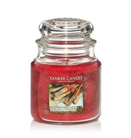 Yankee Candle Yankee Candle - Sparkling Cinnamon Medium Jar