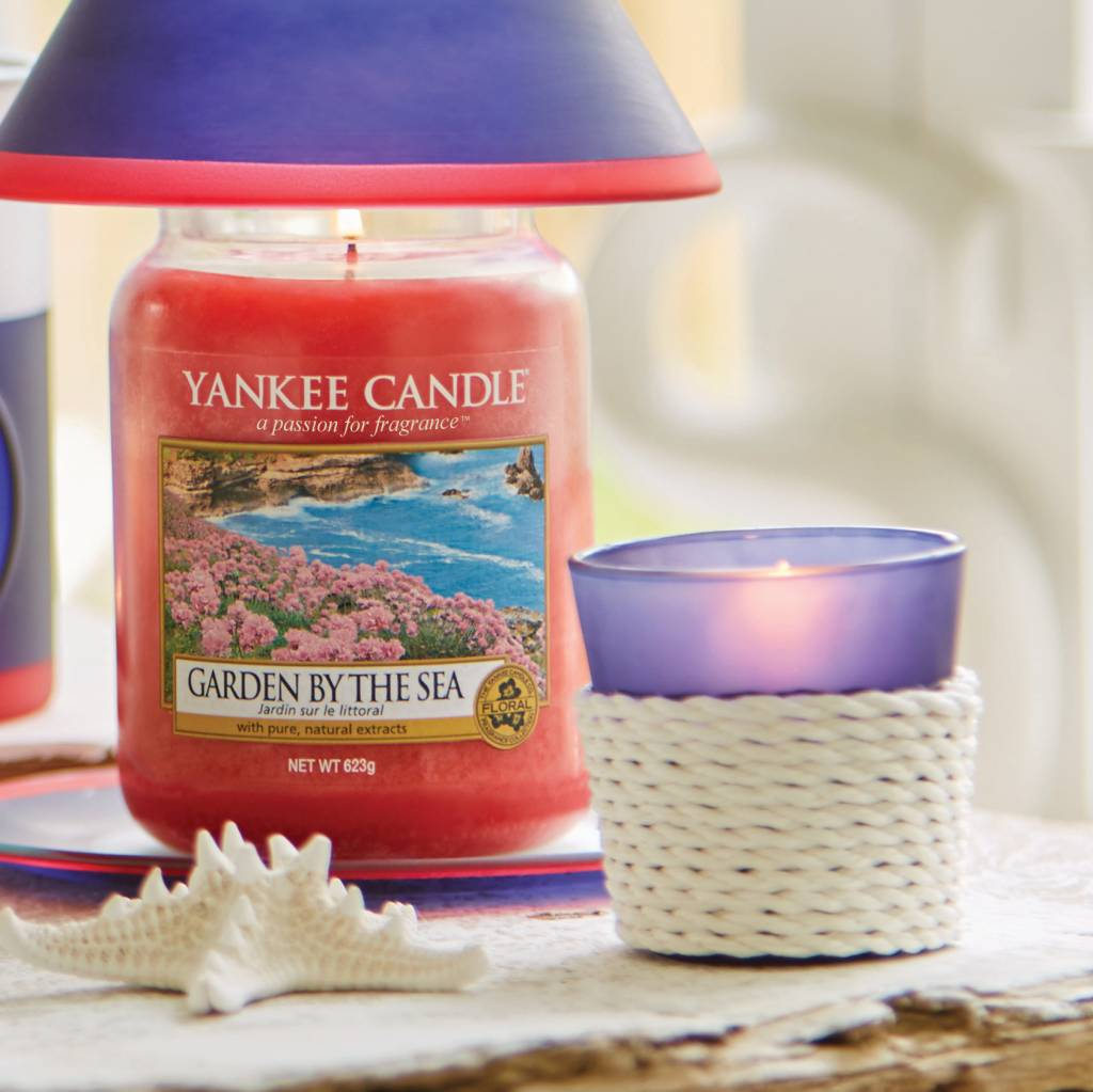 Yankee Candle Yankee Candle - Beach House Blue Votive Holder