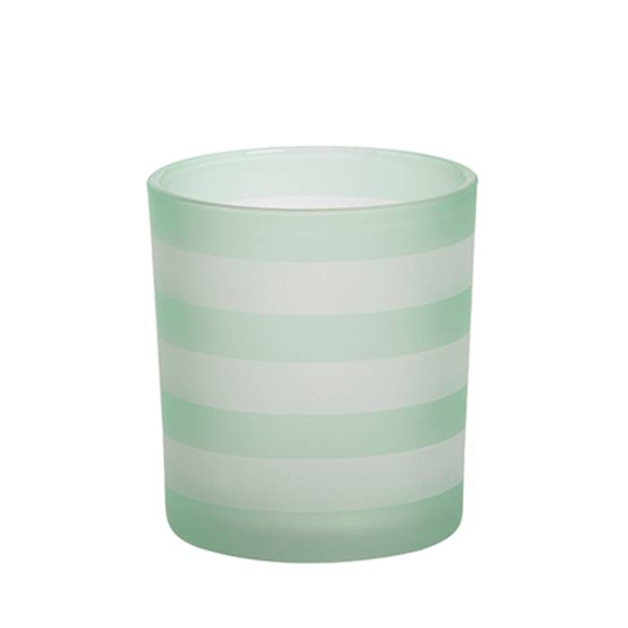 Yankee Candle Yankee Candle - Coastal Stripe Green Votive Holder