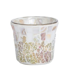 Yankee Candle Yankee Candle - Gold & Pearl Cracklé Votive Holder