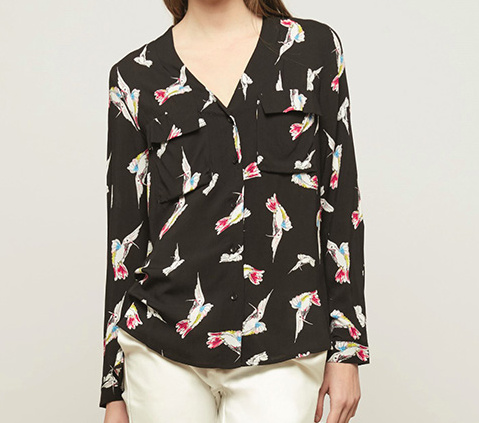 BIRDIES ON A SHIRT » LAST SIZE: M!