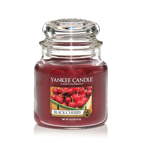 Yankee Candle Yankee Candle - Black Cherry Medium Jar