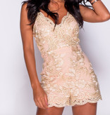 THE GORGEOUS PLAYSUIT - CREAM