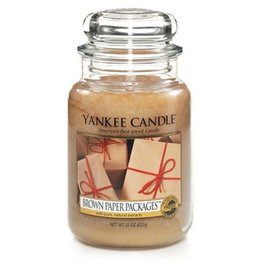 Yankee Candle Yankee Candle - Brown Paper Packages Large Jar