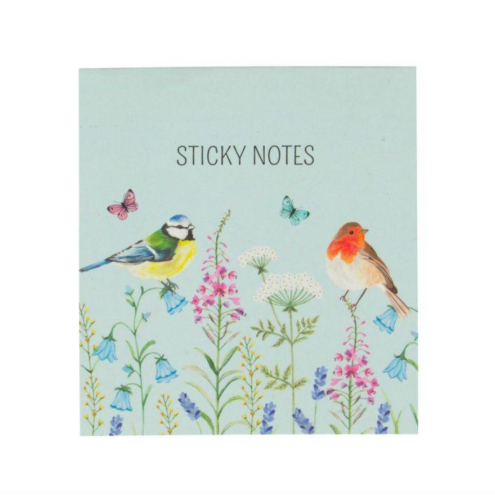 Garden Birdies Sticky Note Set