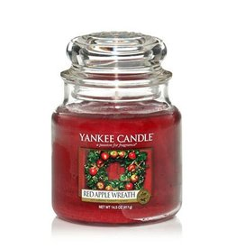 Yankee Candle Yankee Candle - Red Apple Wreath Medium Jar