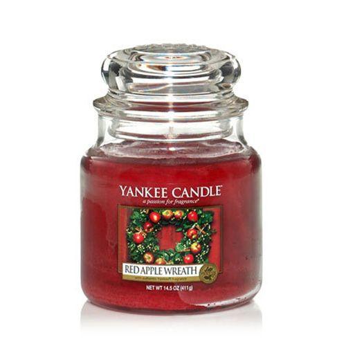 Yankee Candle Yankee Candle - Red Apple Wreath Medium Jar