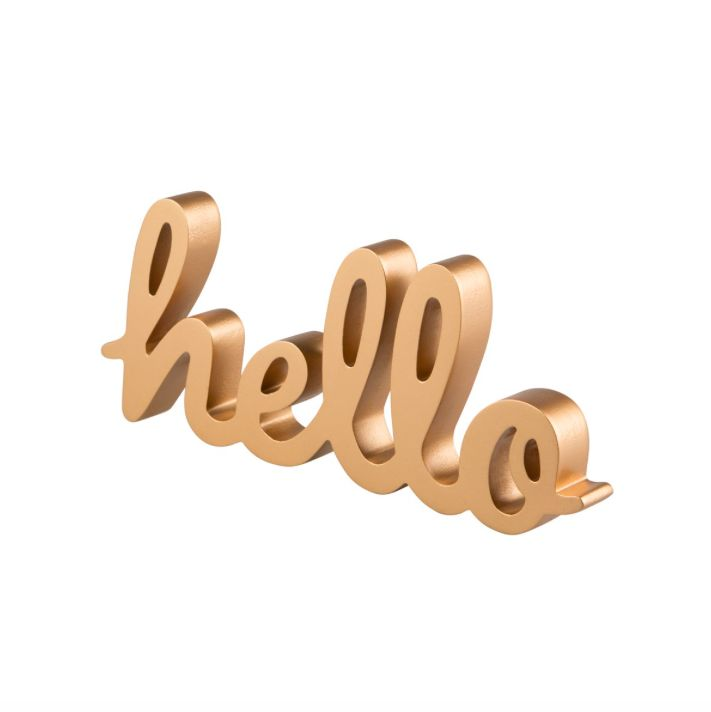 HELLO - STANDING LETTERS