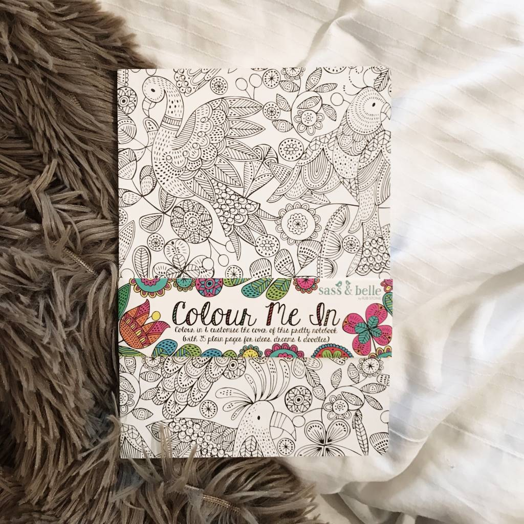 COLOUR ME IN - NOTEBOOK