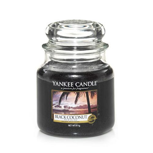 Yankee Candle Yankee Candle - Black Coconut Medium Jar
