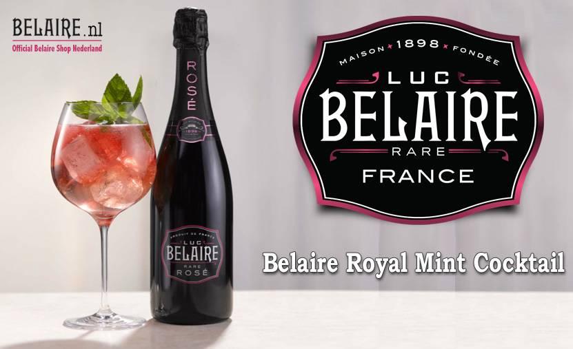 Belaire Royal Mint [Cocktail Recept]