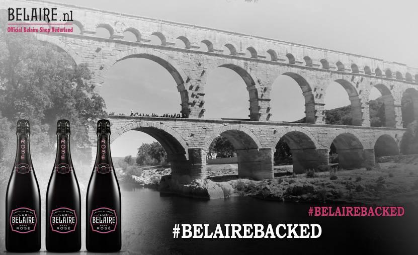 Luc Belaire lanceert #BelaireBacked voor ondernemers