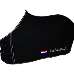 Cutiezz Zweetdeken met naam en Nederlandse vlag