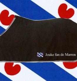 Deken met naam en friesche vlag