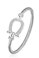 Cutiezz Armband hoefijzer zilver