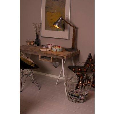 """""""Tonstad"""" Schreibtisch mit Tischböcken aus Stahl"""