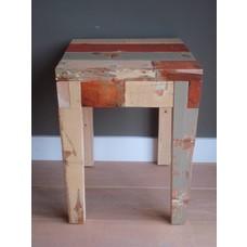 """Hovden"" Hocker oder Beistelltisch aus recyceltem Holz"