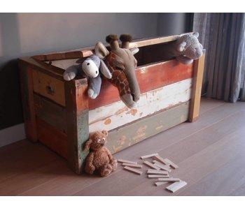 """""""Jondal"""" Kiste aus recyceltem Holz"""